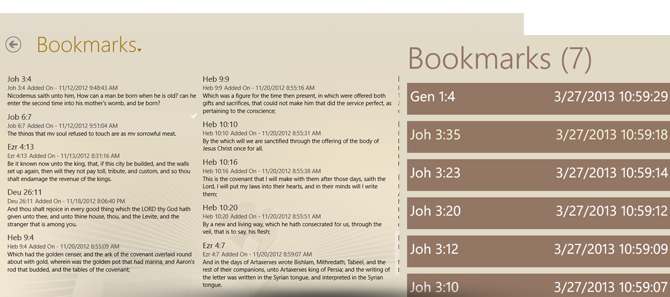 Bible Pronto - Bookmark Verses
