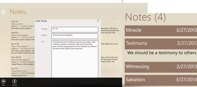 Bible Pronto - Take Verse Notes